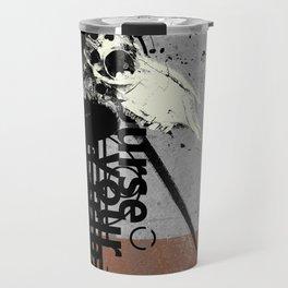 Many Grains of Salt Travel Mug