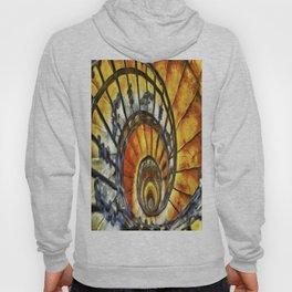Spiral Staircase Van Gogh Hoody