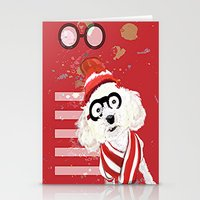 waldo Stationery Cards featuring Wheres Waldo by grapeloverarts