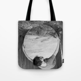 Holding the World Tote Bag