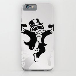Monopoly Gangster iPhone Case