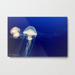 Deep sea life Metal Print