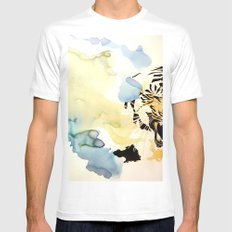 Fearful Symmetry MEDIUM Mens Fitted Tee White