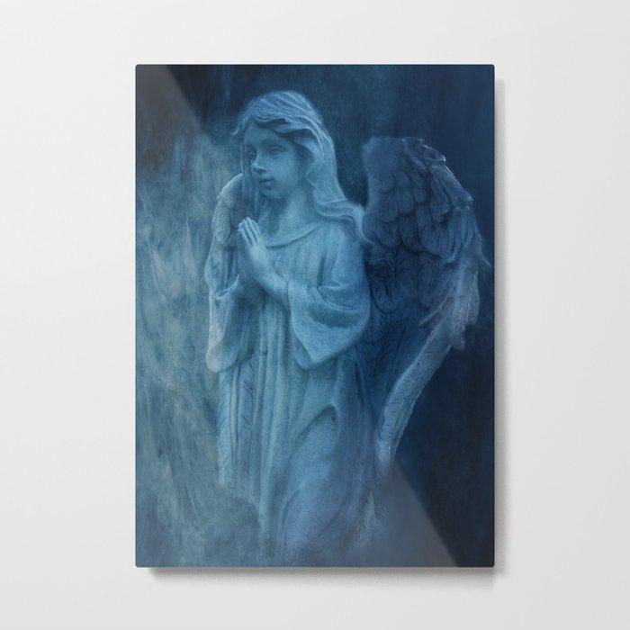 Blue Angel Metal Print