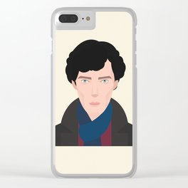 Mr. Holmes Clear iPhone Case
