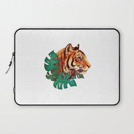 Monstera Tiger Laptop Sleeve