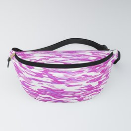 CAMOUFLAGE TEXTURE URBAN GIRL. Fanny Pack
