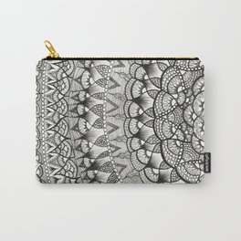 Crescent Mandala Carry-All Pouch