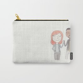 High fives with Nat and Sam Carry-All Pouch