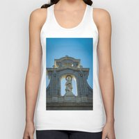 real madrid Tank Tops featuring Almudena Cathedral, Madrid by Svetlana Korneliuk