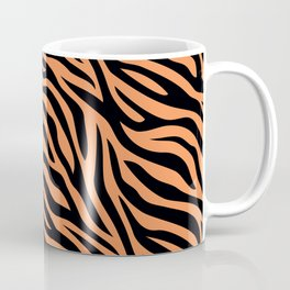 Modern abstract tiger skin illustration pattern Coffee Mug