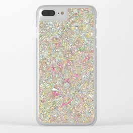 virtues Clear iPhone Case