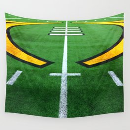 Rugby playing field Wall Tapestry