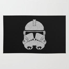 Trooper Grey Glittered Rug