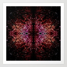 Connected feelings. Art Print