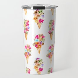 Sweet summer || watercolor ice cream Travel Mug