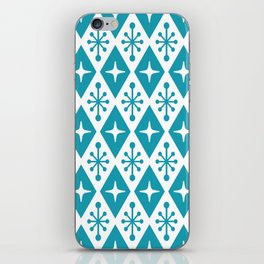 Mid Century Modern Atomic Triangle Pattern 119 iPhone Skin