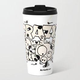Crazy Cow Travel Mug