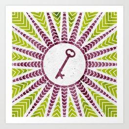 Phantom Keys Series - 11 Art Print