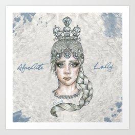 AFRODITE LADY Art Print