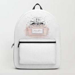 Perfume bottle with bow Backpack