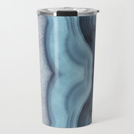 Light Blue Agate Travel Mug