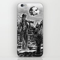 evil dead iPhone & iPod Skins featuring Evil Dead by Marc Vuletich