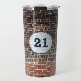 21 Travel Mug