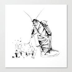 _life like a cockroach Canvas Print