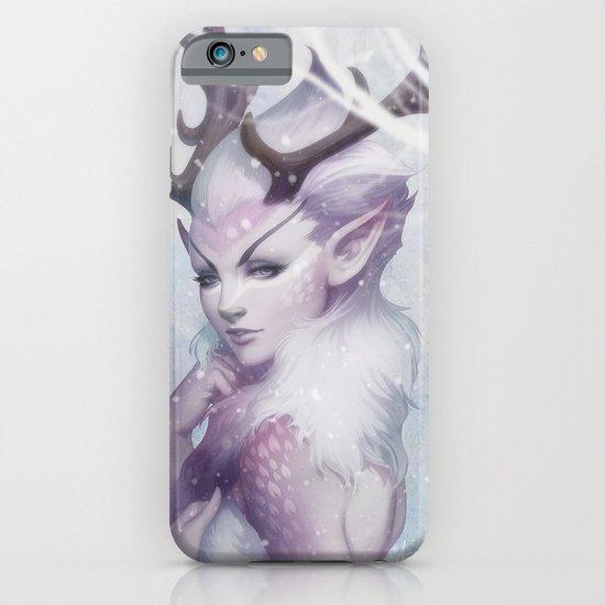 Reindeer Princess iPhone & iPod Case