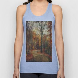 Autumn's Glow Unisex Tank Top