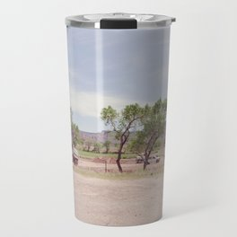 Truck and Helicopters Travel Mug