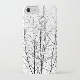 WINTER TREE LIGHT iPhone Case