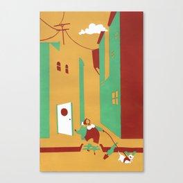 """Wild Dog"" Canvas Print"