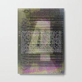 4 Metal Print