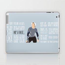 Quicksilver Laptop & iPad Skin