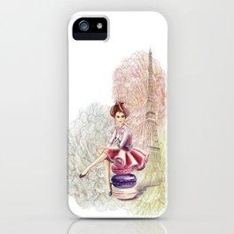 Sweet Paris iPhone Case