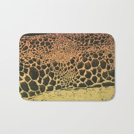 volcanic cells Bath Mat