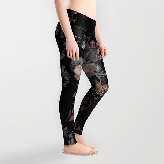 Black Spring II Leggings