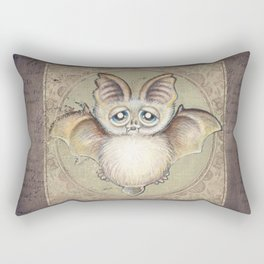 P.P.strello  - the bat Rectangular Pillow