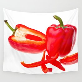 Red pepper Wall Tapestry