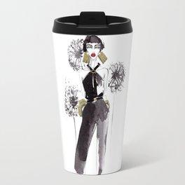 fashion woman. Travel Mug