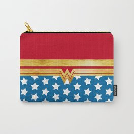 Wonderwoman Super Hero Inspired Carry-All Pouch