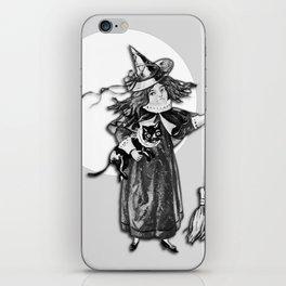 Little Witch Halloween Design iPhone Skin