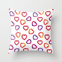 Digital Sweet Love #2 Throw Pillow