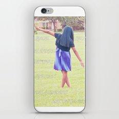 Living life iPhone & iPod Skin