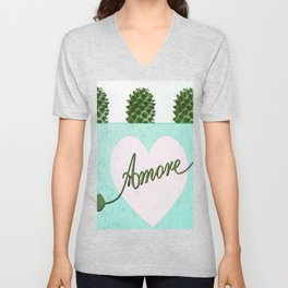 Cactus Love Unisex V-Neck