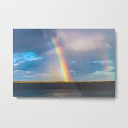 Magnificent rainbow Metal Print