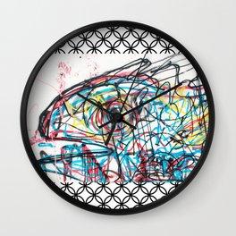 Eye 2 colour Wall Clock