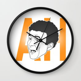 AH ! Denis Brogniart's famous gimmick Wall Clock